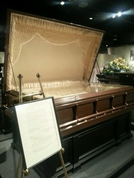 Casket for a family of three